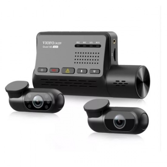 Viofo A139 WiFi 3 Kameralı 2K Araç Kamerası
