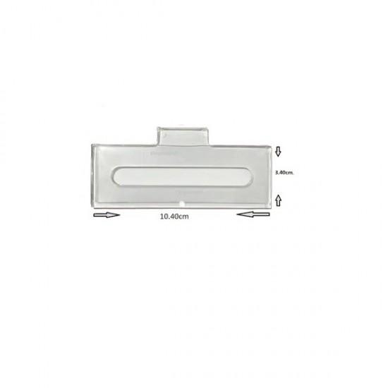 Yeni Tip HGS Etiket Kabı | 10.25 cm X 2.6 cm