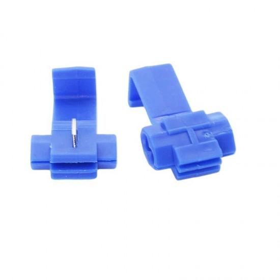 Kablo Kesmeden Kolay Elektrik Alma Aparatı 10 Adet - 1,00-2,50 mm Mavi