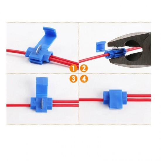 Kablo Kesmeden Kolay Elektrik Alma Aparatı 10 Adet - 4,00-6,00 mm Sarı