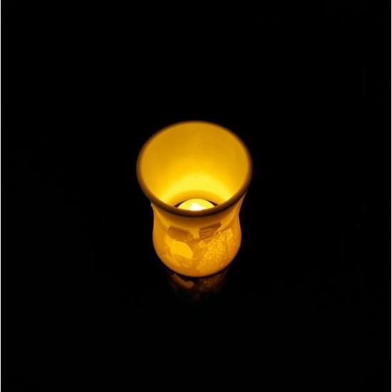 Kişiye Özel 3D Fotoğraflı İnce Belli LED Mumluk