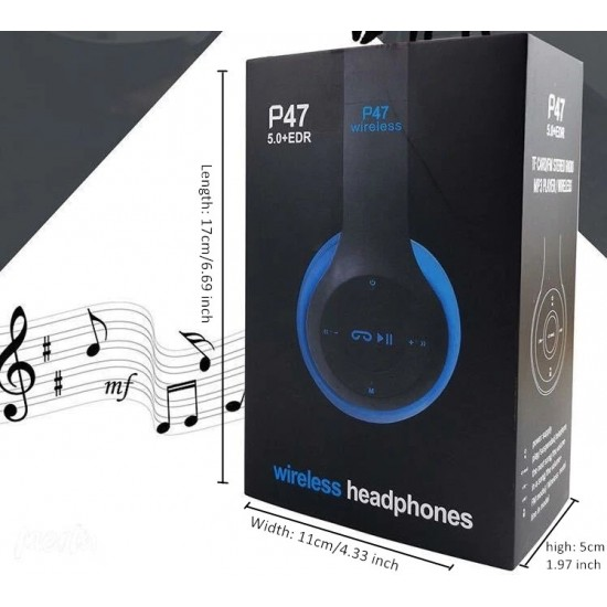 Blue Inter P47 Bluetooth Kulaklık 5.0 + EDR