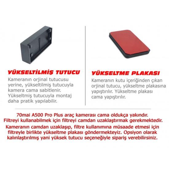 Xiaomi 70mai A500 Pro Plus Araç Kamerası İçin CPL Filtre