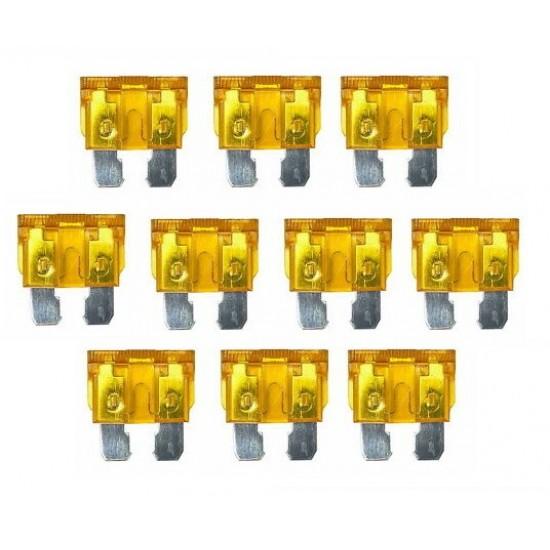 10 Adet 5 Amper Standart Tip Sigorta